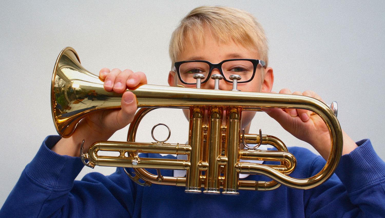 Frühinstrumenter Trompetenunterricht